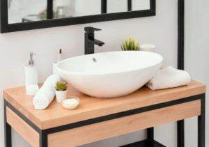 Декорация за баня в стила на минимализма